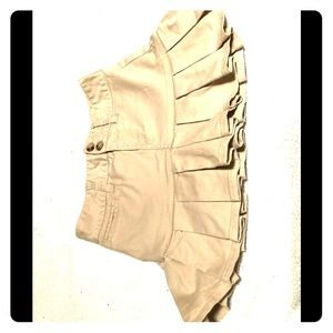 Girls Ralph Lauren Khaki Skirt
